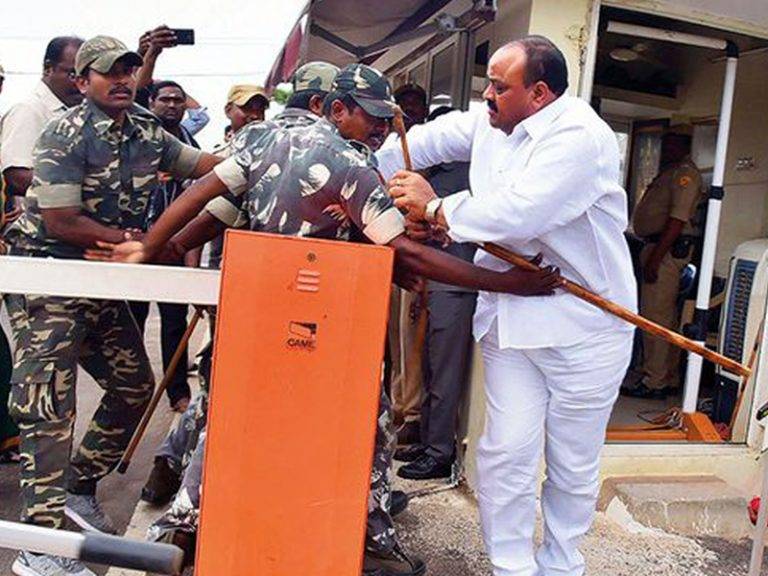Accham Naidu's arrest Claims TDP